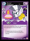 My Little Pony Zecora, Flashing Back Absolute Discord CCG Card