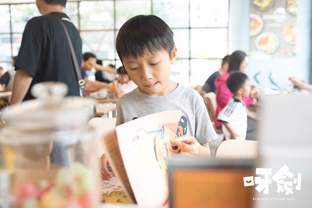 爸爸主題繪本餐廳 PAPA親子餐廳