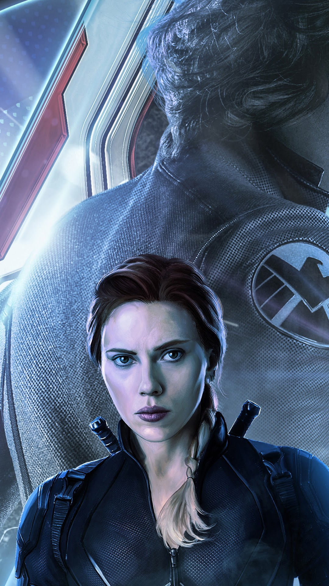 Download Avengers Endgame Black Widow Wallpaper Iphone