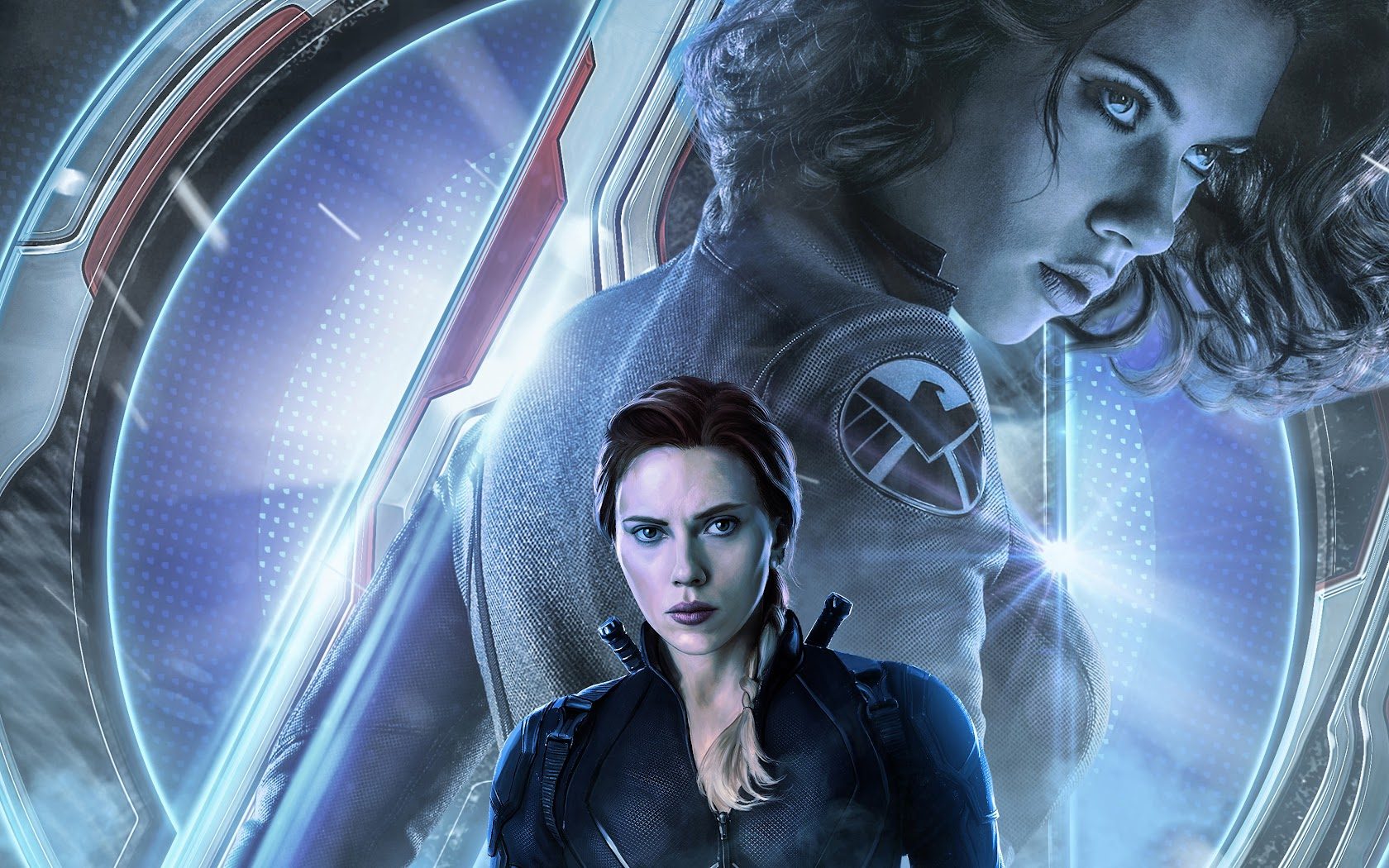 Avengers Endgame Black Widow Natasha Romanoff 4k 108