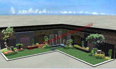 Desain taman Banjarmasin | Kalimantan | www.tukangtamanbanjarmasin.com