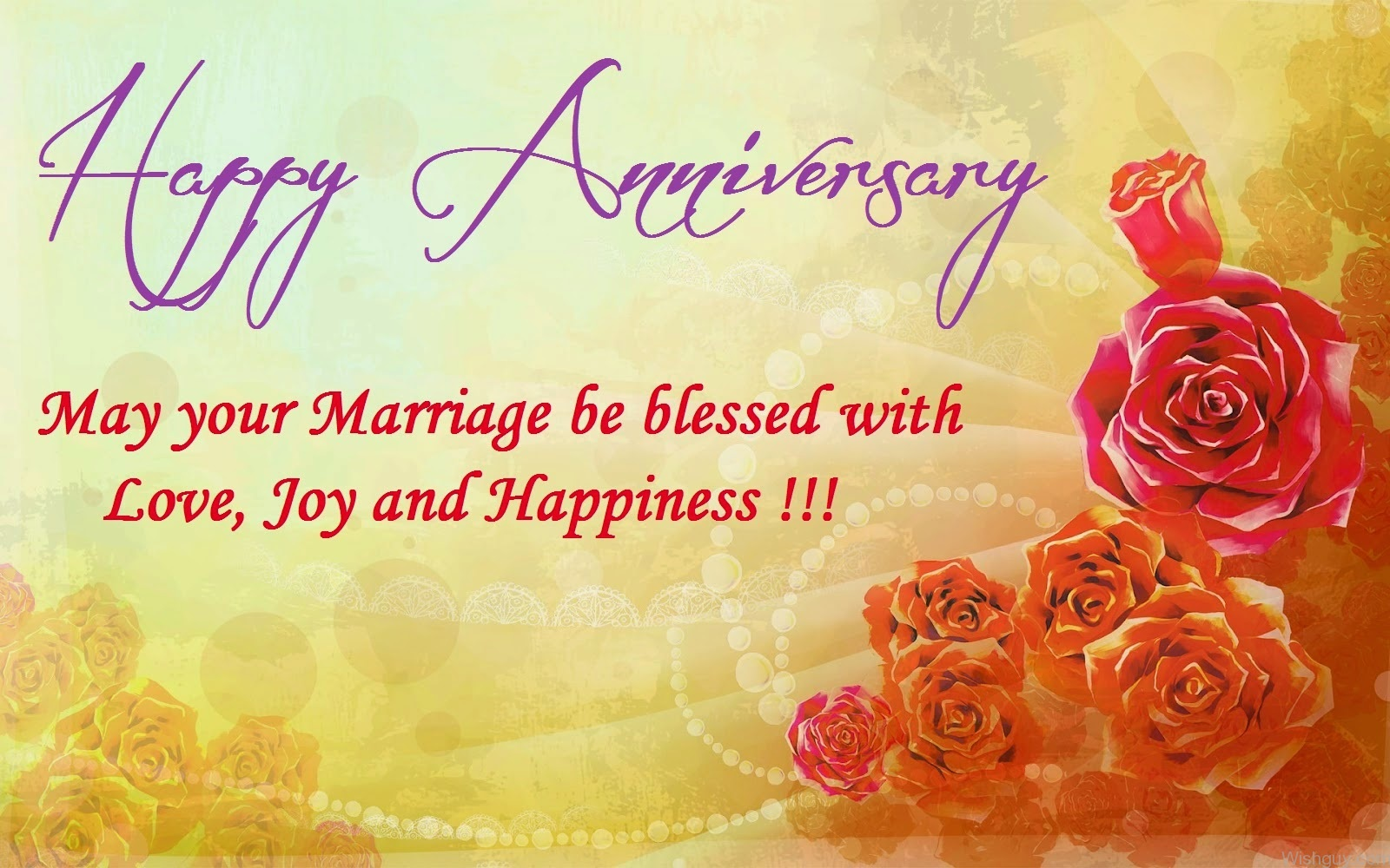 Happy Marriage Anniversary Quotes Happy Wedding Anniversary Wishes Images With Cute Messages For