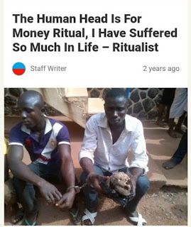 Money Ritual In Nigeria: Do You Have Any Evidence It Works? (Disturbing Photos)