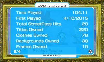 Pokémon Rumble World Player Info Time Played Pokemon Nintendo 3DS