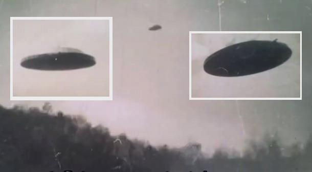 Incredible Images From 1958 Show Breath-taking UFO Over Mexico