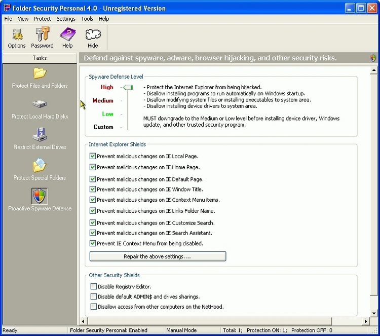 Folder Security Personal 41 Keygen