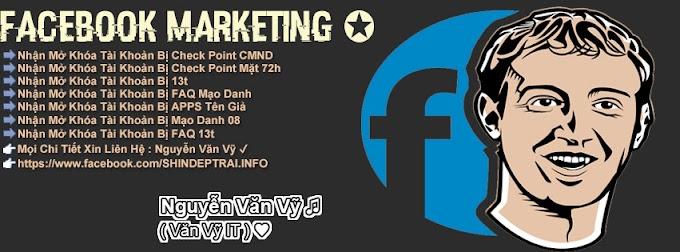 [PSD Ảnh Bìa] Facebook Marketing - Nguyễn Văn Vỹ
