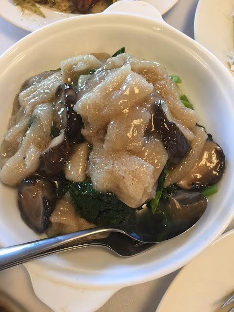 Favourite Kitchen, Wantirna, bamboo pith, mushrooms, spinach