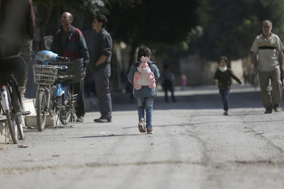 30 Beautiful Pictures Of Girls Going To School Around The World - Syria