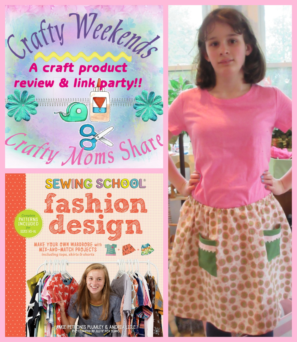 Crafty Moms Share Sewing School Fashion Design A Crafty Weekends Review Link Party