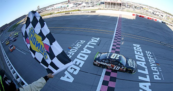 Fast Fords At Talladega As Almirola Wins