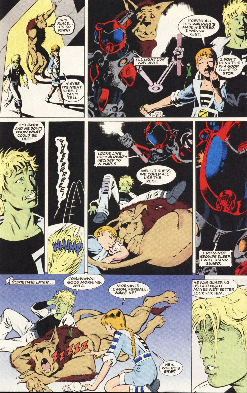 Legion of Super-Heroes (1989) _Annual_6 Page 27
