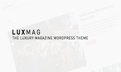 Luxmag WordPress Theme Free Download
