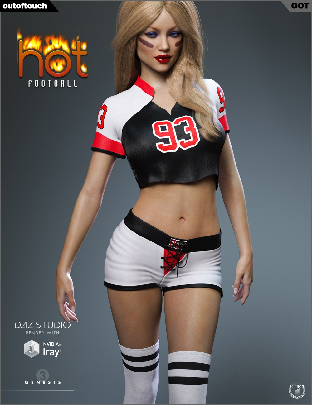 Download Daz Studio 3 For Free Daz 3D - Hot Football -4618