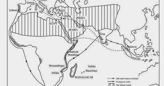 The Portuguese at the East African coast 1500