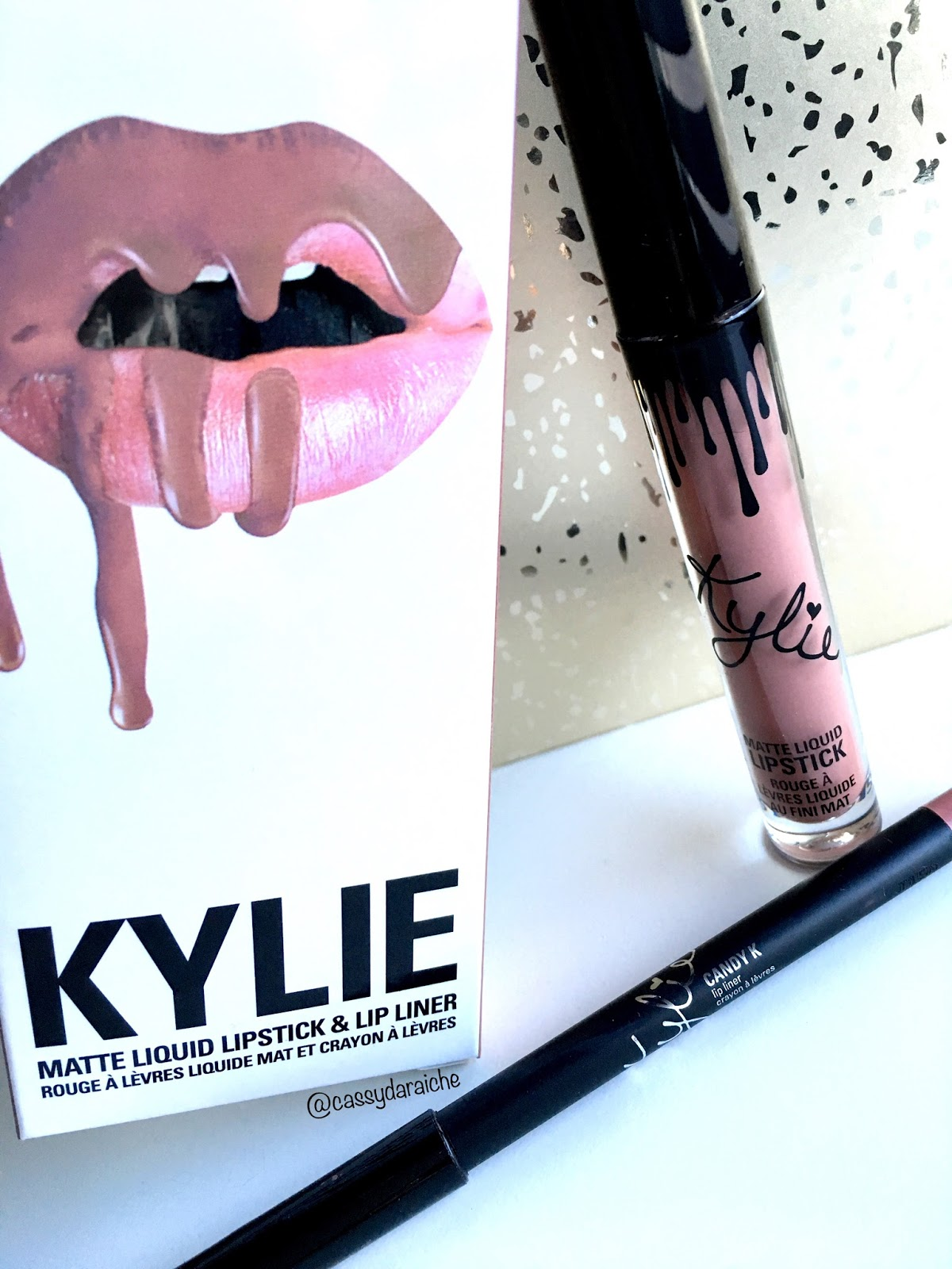 Cassy's Life In Lipstick: Kylie Jenner Candy K Liquid Lipstick