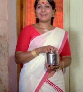 hot story: old malayalam actress Jayabharathi Hot Navel