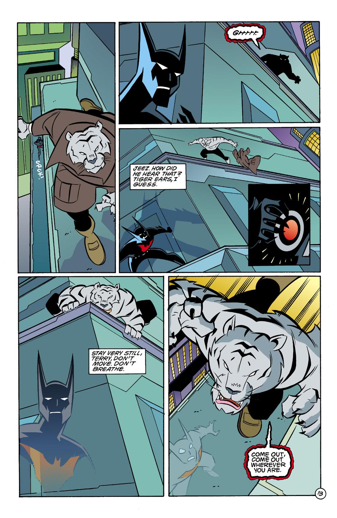 Batman Beyond [II] Issue #3 #3 - English 14