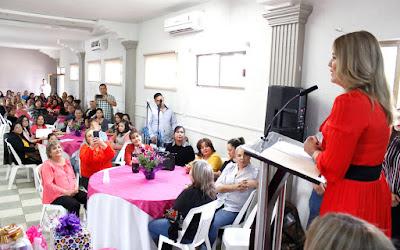 Festeja ayuntamiento de Huatabampo el día internacional de la mujer a través del instituto municipal de la mujer