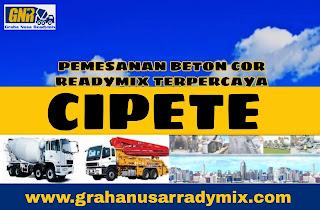HARGA BETON COR TIGARODA CIPETE JAKARTA