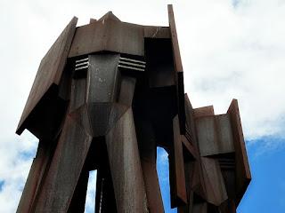 Parcão - Detalhe do Monumento ao Marechal Castelo Branco