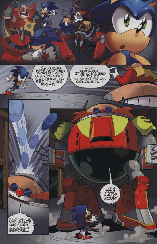 Read online Sonic The Hedgehog comic -  Issue #229 - 22