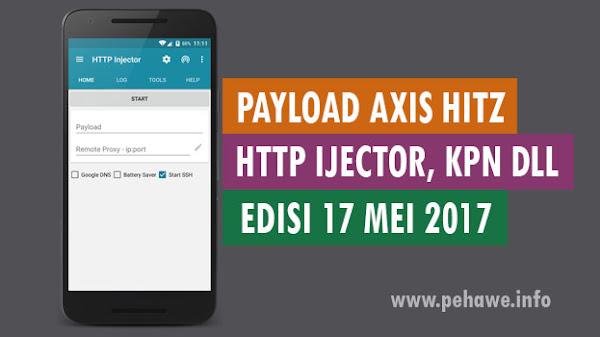 Payload Axis Hitz BBM, Line & Wa Squid Terbaru
