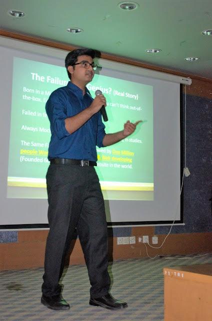 Syed Faizan Ali Sharing his story