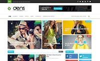 Download Theme Themexpose Premium Gratis Dens Blog/Magazine Responsive Blogger Template