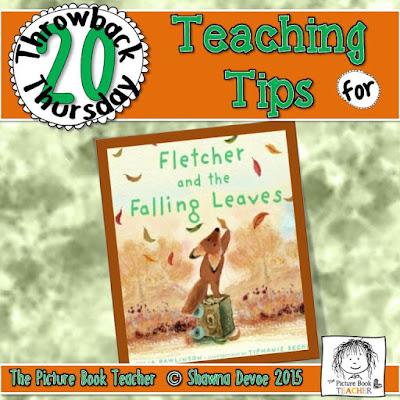 The Fox and the Falling Leaves by Julia Rawlinson TBT - Teaching Tips.