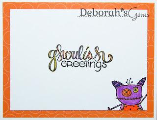 Happy Halloween inside - photo by Deborah Frings - Deborah's Gems