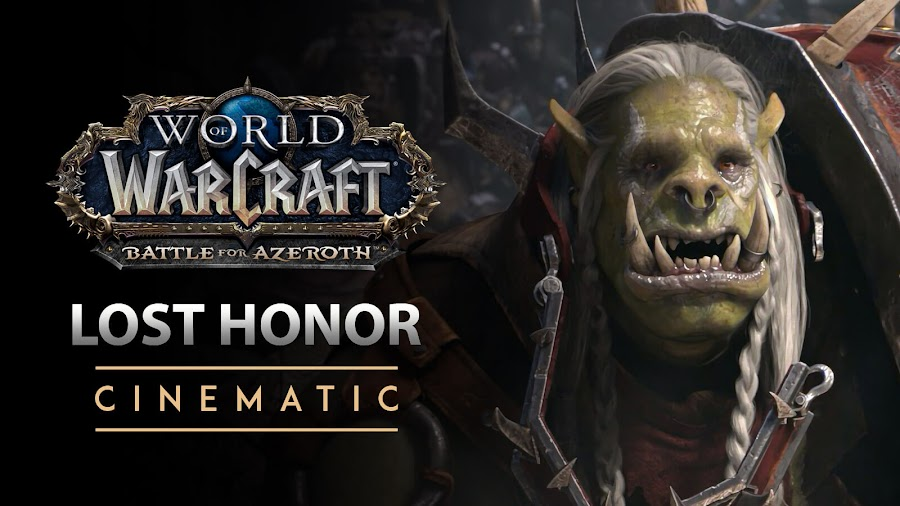 world of warcraft lost honor cinematic