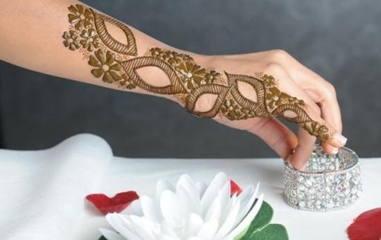 latest mehandi designs for eid 2018