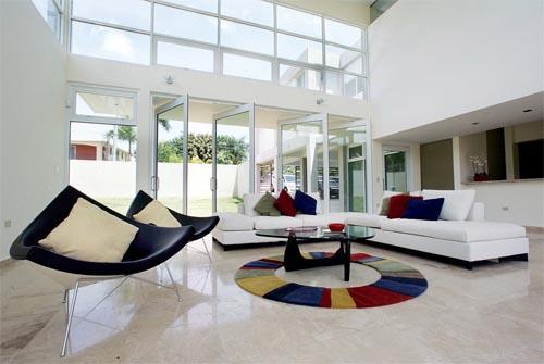 modern living hall design