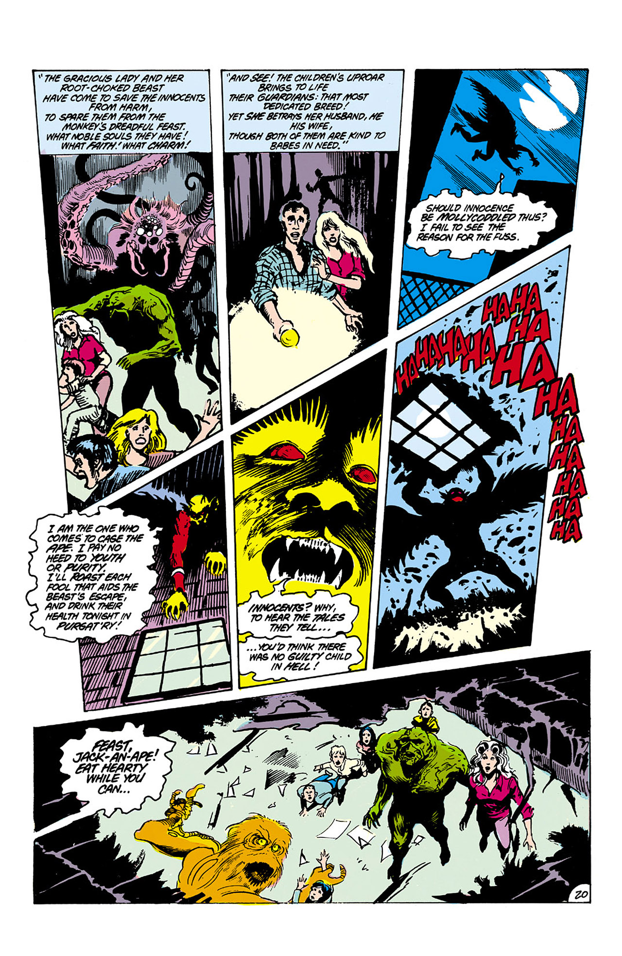 Swamp Thing (1982) Issue #26 #34 - English 20
