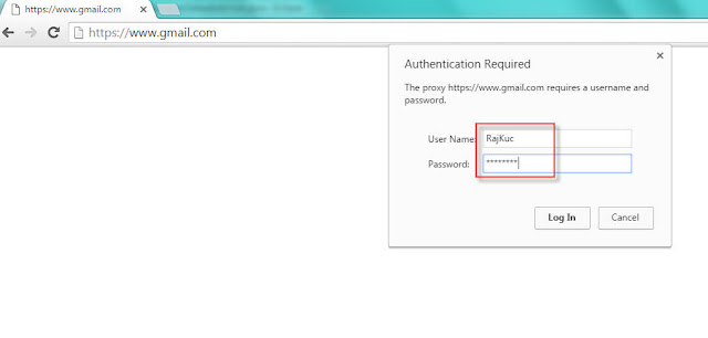 Authentication required using selenium webdriver