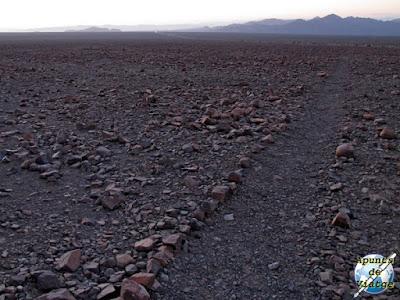 Surcos de las líneas de Nazca