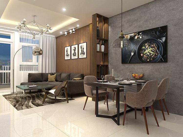 Thiết kế căn hộ asa light 65m2