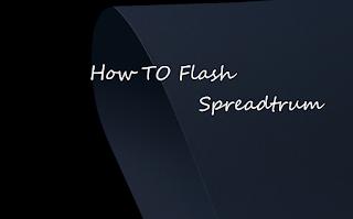 how to flash spreadtrum using SPD upgrade tool
