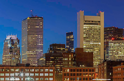 The Hub - Boston skyline photography images
