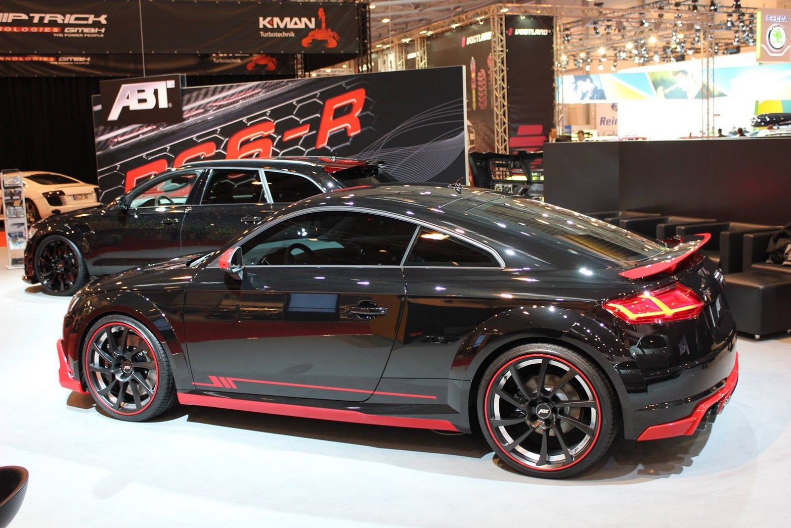 New Audi Tt Earns Its First Abt Tuning Stripes Carscoops