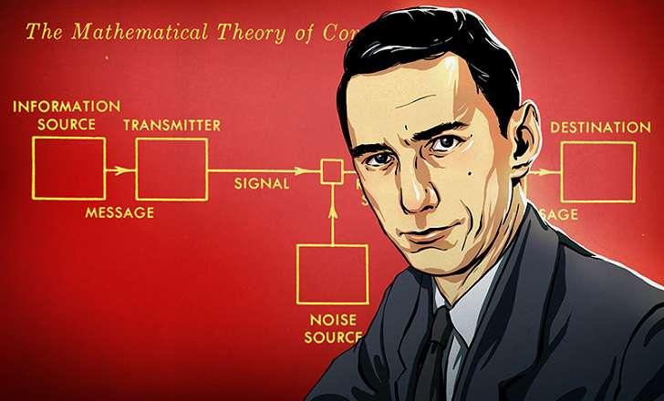 Profil Claude Shannon Tampil Di Google Doodle Paska Ultah ke 100 Siapa Dia Bapak Matematikawan ini ?