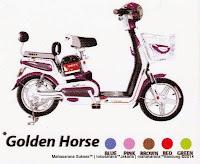 Sepeda Listrik Unity Golden Horse