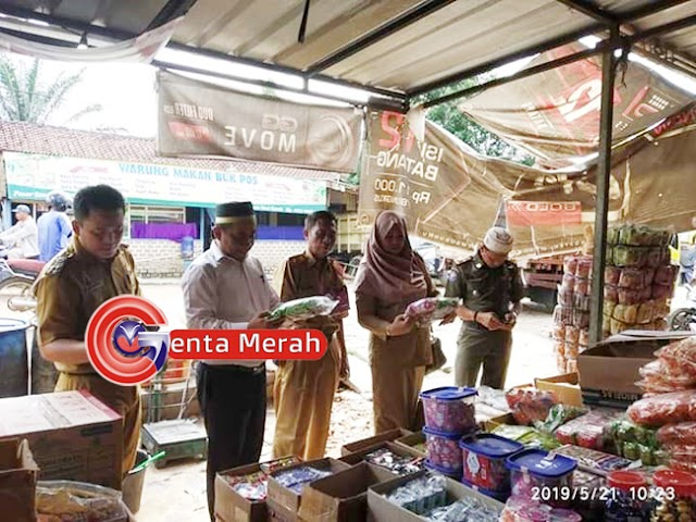 Sidak Kesejumlah Pasar di Mesuji, BPOM Tuba Temukan Bahan Makanan Berborak