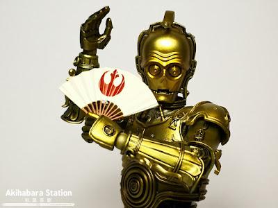 Mei Sho Honyakukarakuri C-3PO de Star Wars - Tamashii Nations