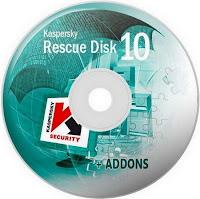 تحميل إسطوانه الصيانه والانقاذ من كاسبر سكاى  Kaspersky Rescue Disk 10.0.32.17 data 2017.12.18