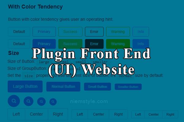20 link hay về plugin Front End (Chủ yếu thiên về UI) #j2team_share