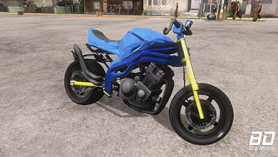 Mod, Moto , Honda CBR 1100 Street Fight para GTA San Andreas, GTA SA