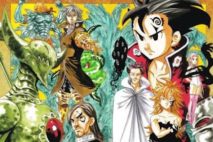 Anggota 10 Perintah Tuhan (Ten Commandments) Nanatsu no Taizai