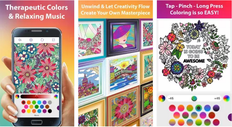 Color Matters - The Coloring App for Adults with enhanced coloring ...